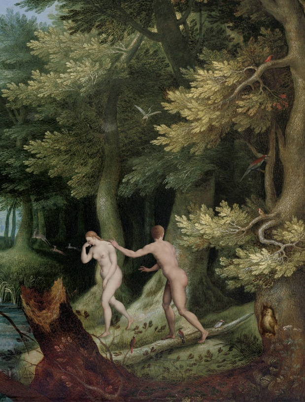 Adam and Eve Scene