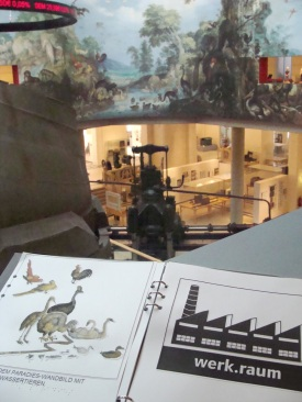 Tactile Guide in museum setting